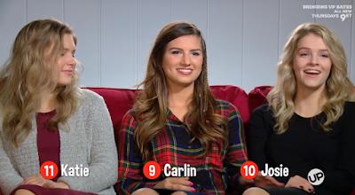 Katie Bates, Carlin Bates, Josie Bates