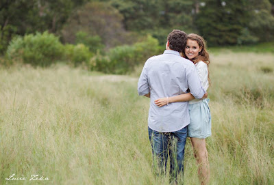 Engagement Photoshoot in Centennial Park - Lucie Zeka - Kristy and Jesse
