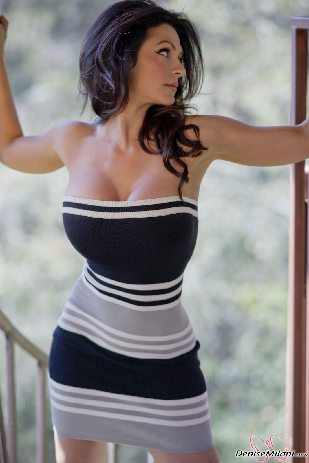 Denise Milani Beautiful Figure Picture Taste Wallpapers