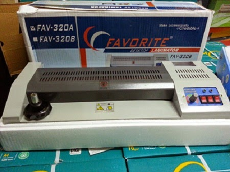 mesin laminating favorite 320A