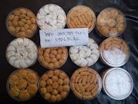 Jual Nastar kastangel, Putri Salju, Roti Kacang di Rembang