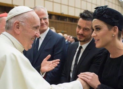 Pope and Katy Perry