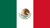 Logo Gambar Bendera Negara Meksiko Serikat PNG JPG ukuran 200 px