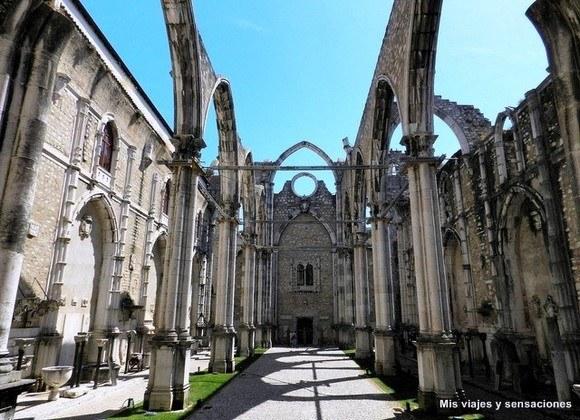 Ruinas del Convento do Carmo, Lisboa