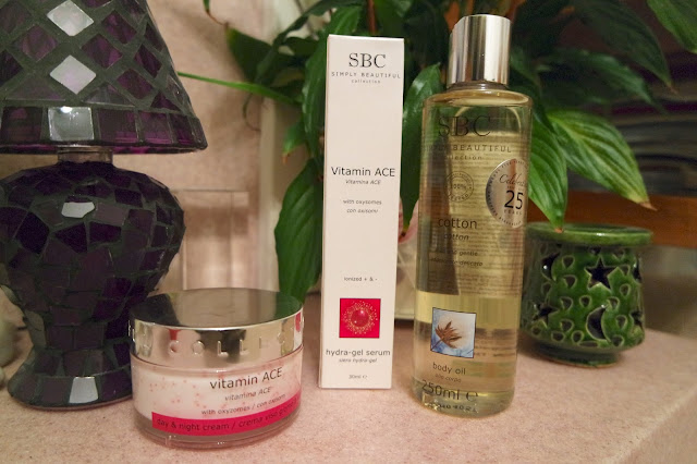 SBC Collection - Day and Night Cream, Cotton Body Oil, Hydra-Gel Serum