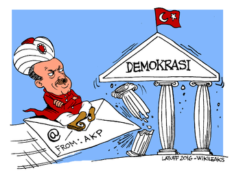 Wikileaks diserang usai bocorkan dokumen Erdogan