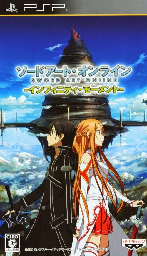 Sword Art Online: Infinity Moment (English Patch + DLC) PSP ISO