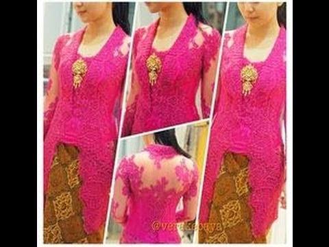 Foto Model Baju Kebaya Lebaran 2018