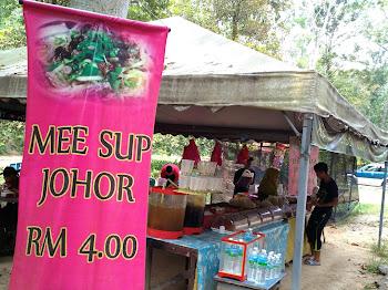 Nikmati Mee Hoon Sup Johor di Tengah Hutan