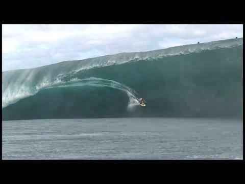 Alain Riou at Teahupoo 2 - 2014 Wipeout of the Year Entry - Billabong XXL Big Wave Awards