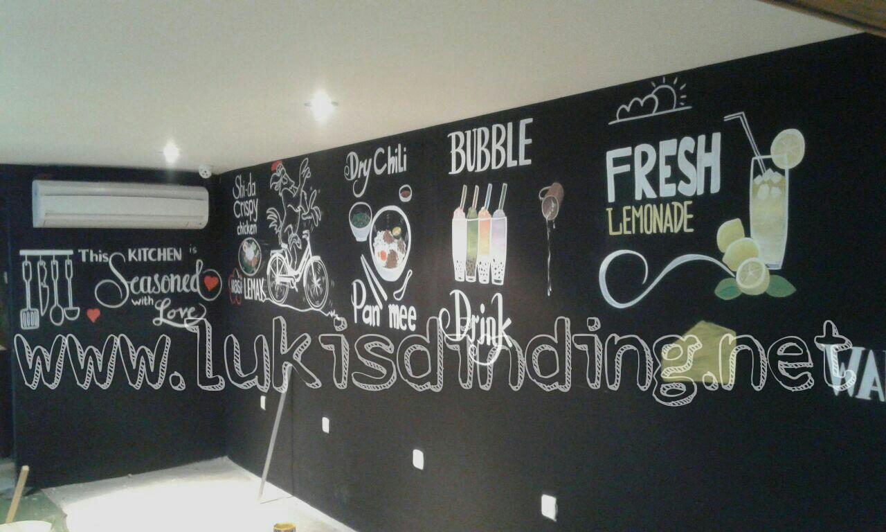 Lukisan Dinding Cafe  Jasa Lukis Tembok  Lukis Dinding