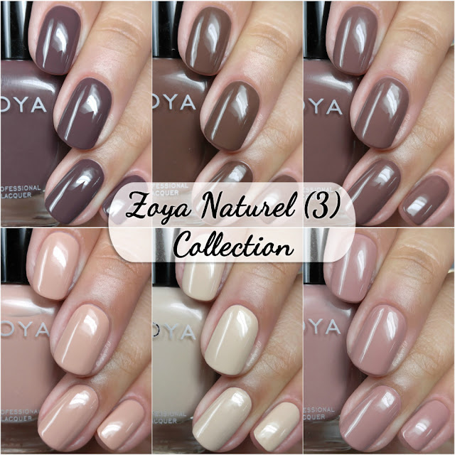 Zoya - Naturel (3) Swatches & Review