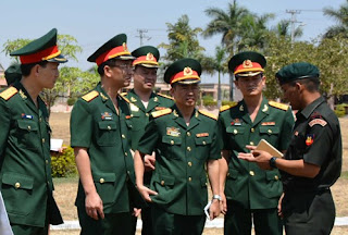 Spotlight : Indian, Vietnamese Armies Hold First military exercise