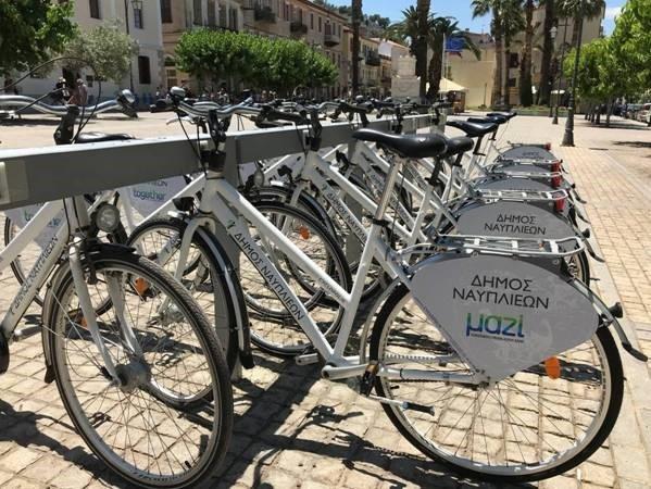 Υποστηρικτής του συστήματος κοινόχρηστων ποδηλάτων στο Ναύπλιο η Alpha Bank