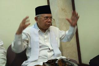 Ma'ruf Amin: Kebangetan Menuduh Presiden Jokowi Memperalat Saya