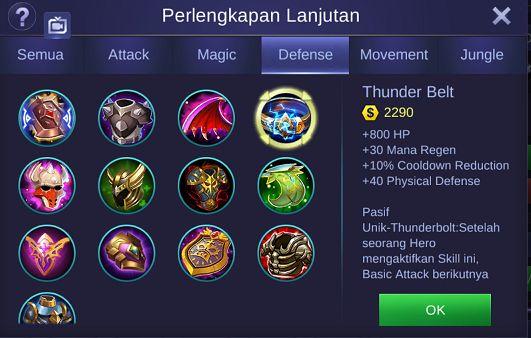 2 Build Item Aldous Mobile Legends Paling Sakit Minta Ampun dan Terbaru 2019
