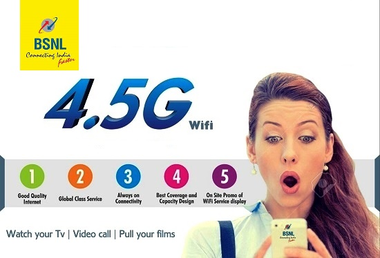 BSNL to offer up to 3 times more data in existing prepaid WiFi plans, launches new BSNL WiFi plans @ Rs 20, Rs 999 & Rs 1999