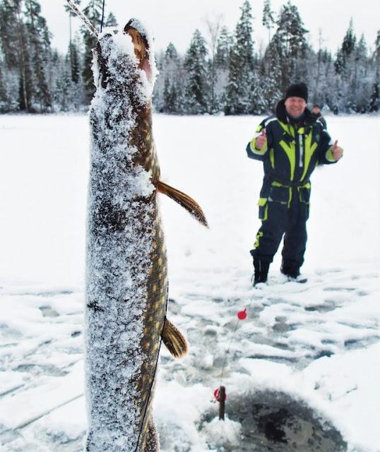 Vinterfiske utan is?!