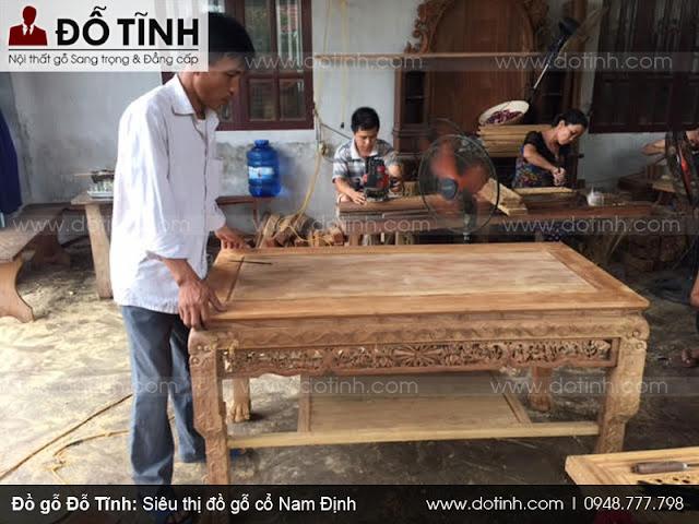 Sự cạnh tranh khốc liệt giữa đồ gỗ cổ Nam Định và đồ gỗ hiện đại