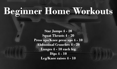 Beginner Workout at Home