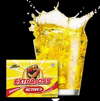 Minuman EXTRA JOSS Membuat Tubuh Menjadi DROP JOSS