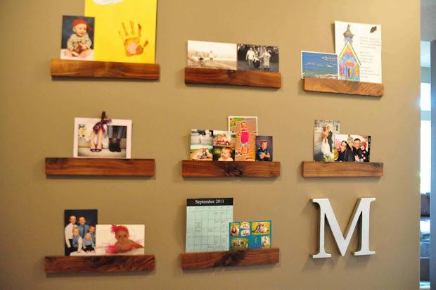 Artwork Display Wall