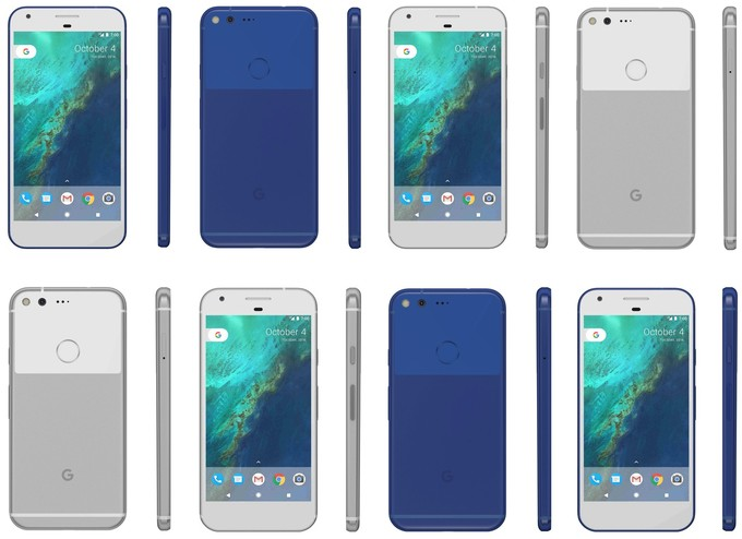 Google Pixel Colors Available