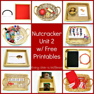 Nutcracker activities and printables.