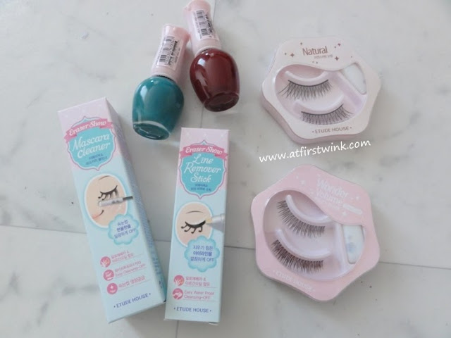 Etude House purchases