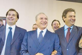 rodrigo-maia-aecio-neves-michel-temer-lava-jato-operacao-impeachment-prestar-depoimento-pf-policia-federal