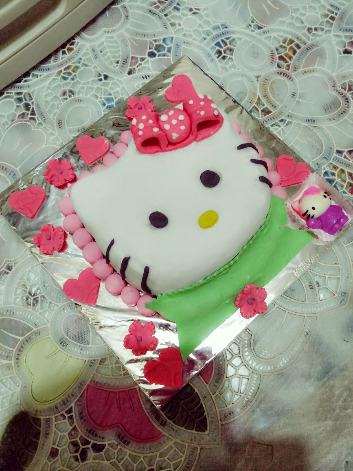 Sagitarius Cake Shop Kue Ulang Tahun Kepala Hello Kitty