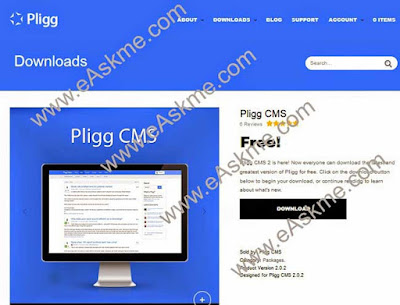 How to Create Social Bookmarking Site using Pligg: eAskme