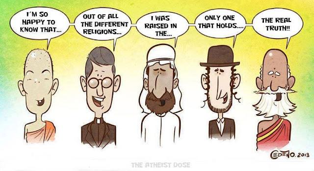 The real truth cartoon