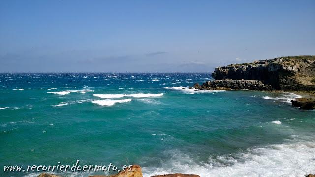 parte mediterránea de Tarifa