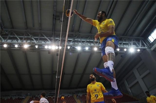 Brasil vence a Alemanha por 3 sets a 0