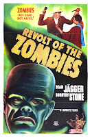 Póster película La rebelión de los zombies