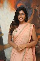 Eesha Rebba in beautiful peach saree at Darshakudu pre release ~  Exclusive Celebrities Galleries 015.JPG