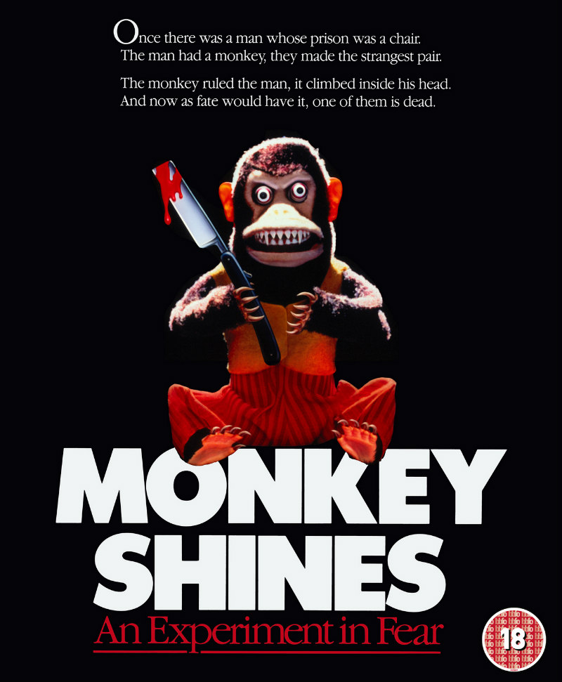 monkey shines eureka blu-ray o-card