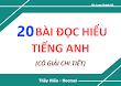 [DOC] 20 Bài đọc hiểu (198 câu) Thầy Hiếu Hocmai - Giải chi tiết