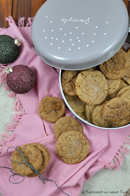 Lebkuchen-Snickerdoodles | Rezept | Backen | Weihnachten | Kekse | Plätzchen