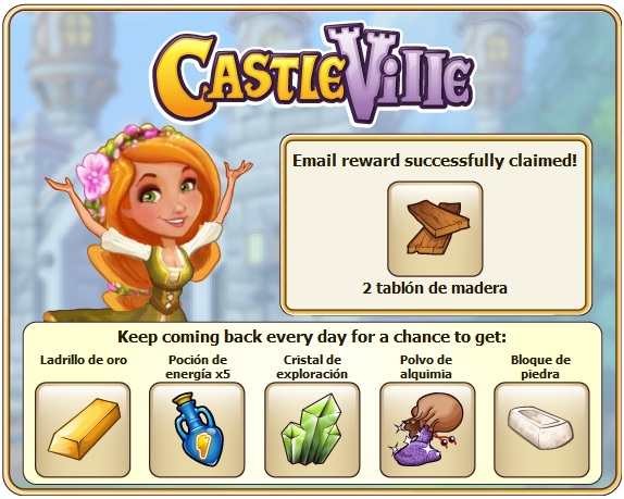 Pocion de Energia gratis castleville