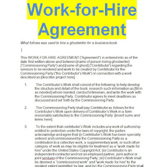 Work for hire agreement template sample doc sample contracts work for hire agreement template sample doc sample contracts contract templates business contracts exemples and models maxwellsz