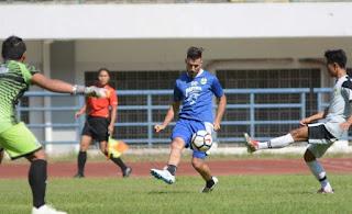 Hasil Laga Uji Coba Persib Bandung: Jonathan Bauman Hattrick