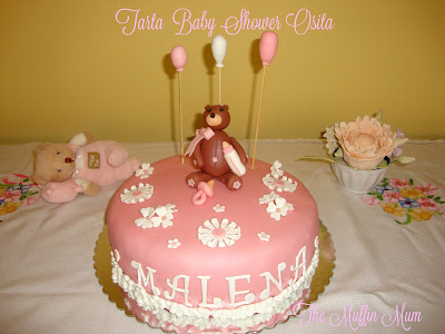 Tarta Osita baby
