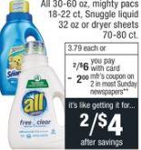 cvs All ad deal