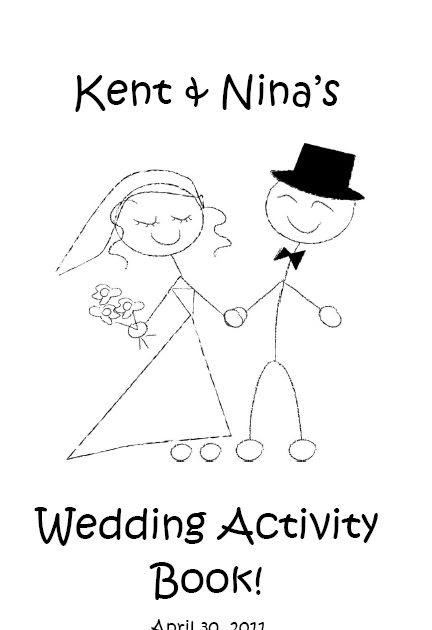 Something White: Wedding Activity Book for Kids
