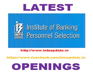 "Regional Rural Banks (RRBs VI) for recruitment of 14192 Group ""A""- Officers (Scale-I, II & III) and Group ""B""- Office Assistants (Multipurpose) vacancies., ibps recruitment  for 14192 posts, job in banks , recruitmnet in banks, letsupdate"