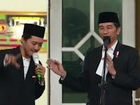 Pukau Presiden Jokowi dengan Musik Beatbox, Santri Ini Dapat Sepeda tanpa Harus Jawab Pertanyaan