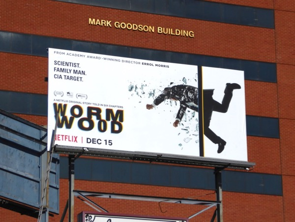 Wormwood TV series billboard