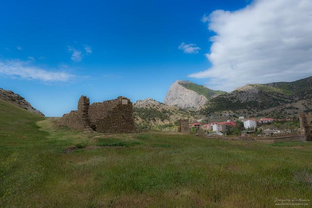 Судакская крепость, Крым.